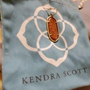 Kendra Scott Jewelry - (1) single Kendra Scott burnt orange earring